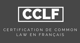 Certification de common law en français (CCLF)